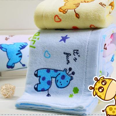纯棉吸水儿童毛巾