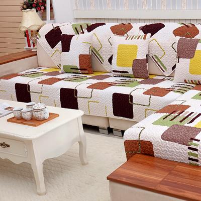 简约现代沙发垫